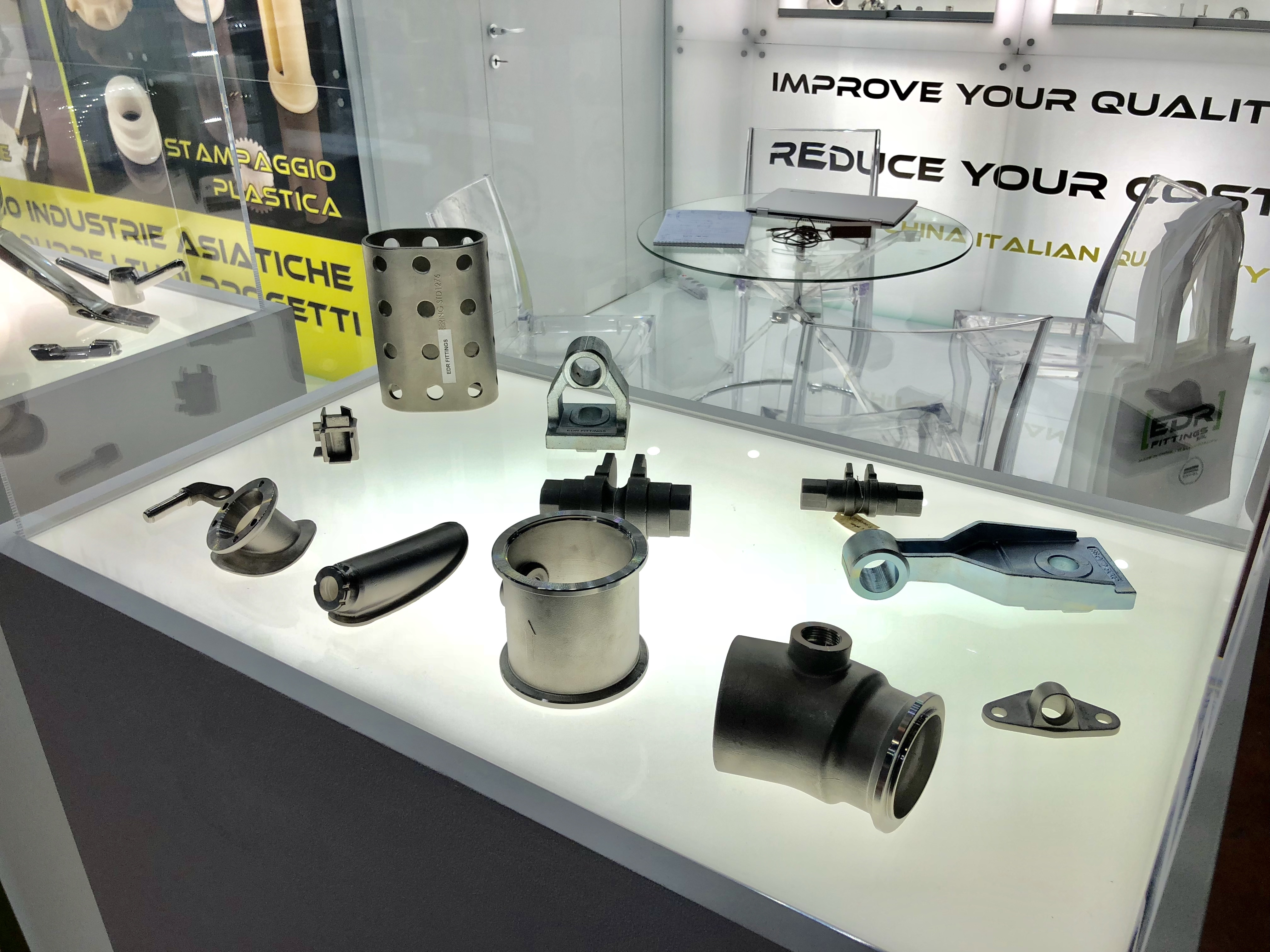 fiera MECSPE 2018 - Edr Fittings